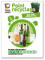 Panneau Point recyclage